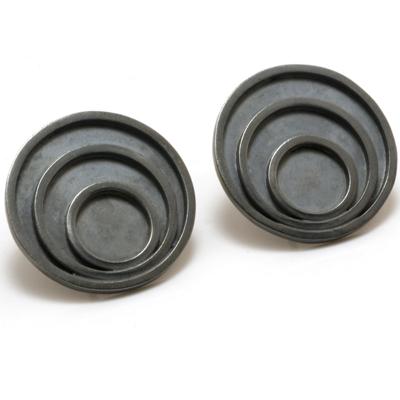 oxi triple circle earrings