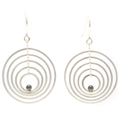 machi dewaard dancing earrings oxi ball