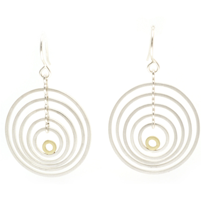 machi dewaard earrings gold jump ring