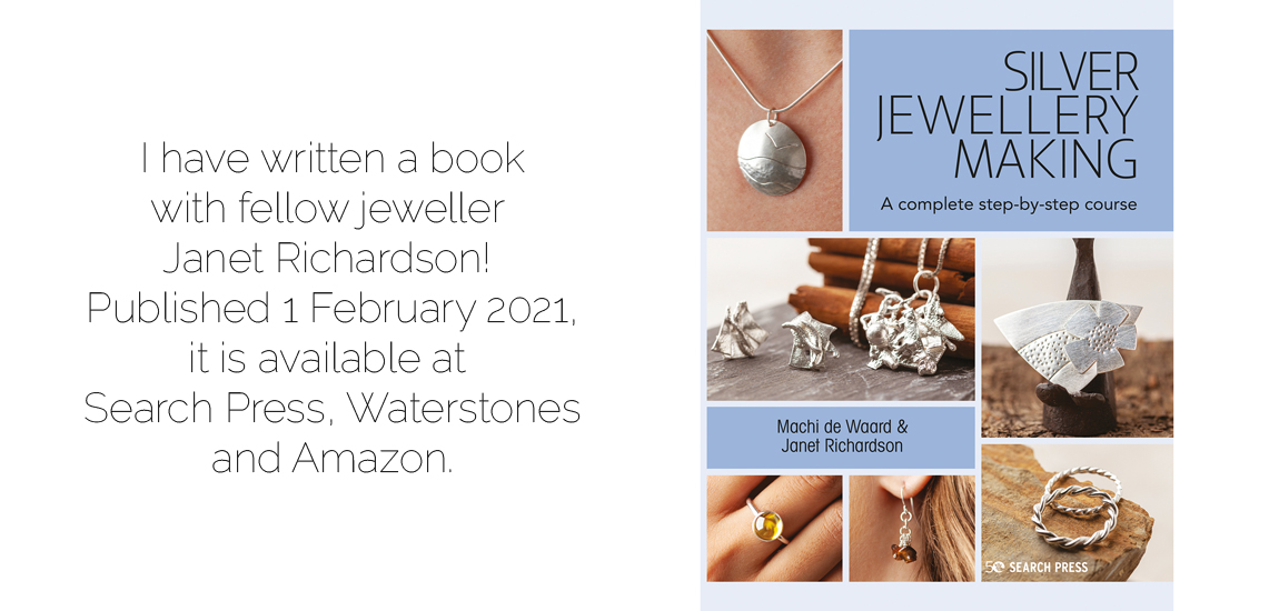 silver jewellery making - machi de waard - slide