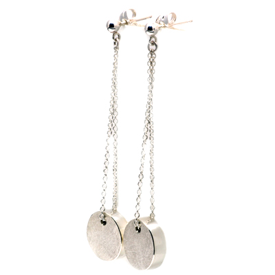 Hollow dangle earrings